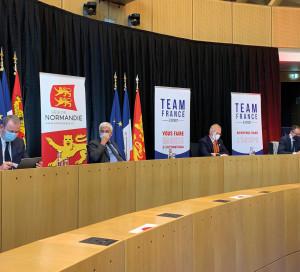 Région Normandie Relance Export Tour Exportation Relance économique Frank Riester