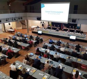 SNA Conseil Communautaire Elections 1er Vice Président François Ouzilleau Jérôme Grenier VP sécurité