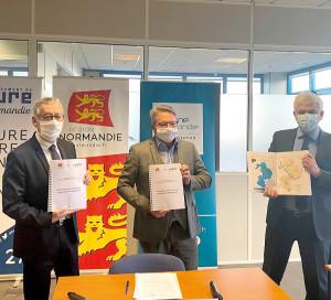 Billet SNA Signature Revoyure Contrat de Territoire Région Normandie Département de l_Eure