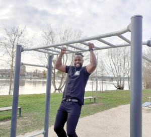 Sports Ibrahima Ba Candidat Ninja Warrior TF1 Parkour Acrobatie