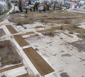 Les travaux ont débuté en novembre dernier et le site a déjà bien changé.