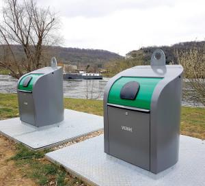 PAVE croisie¦üristes poubelles recyclage tourisme bateaux