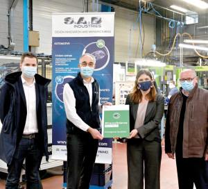 SNA Viste S.A.B Industries Gasny France Relance Développement économique