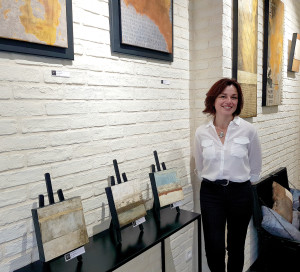 En Ville N_ Nelly Signat Nouvelle Galerie d_Art 9 rue Carnot