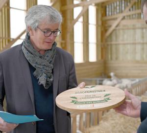 CD27 Agroforesterie Agriculture Ferme des Ruelles Tilly Michel Galmel Récompensé