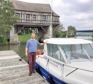 En Ville Bateau-Ecole Navigation Fluviale Plaisance Seine Tourelles