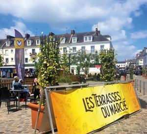 Grand Angle Retour des Terrasses du Marché Place de Gaulle