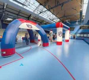 Sports Handball SMV Caravane Handball_Eure Structure gonflable